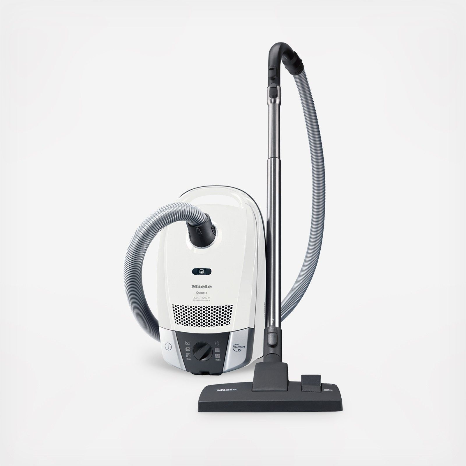 Miele S Lightweight Ultraquiet Compact C2 Quartz Canister Vacuum Features An Allteq Combination Floor Canister Vacuum Microfiber Cleaner Vacuum Cleaner Brands