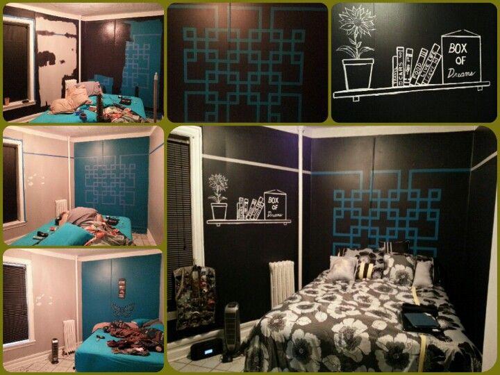 Jennifer's room paintjob in phases
