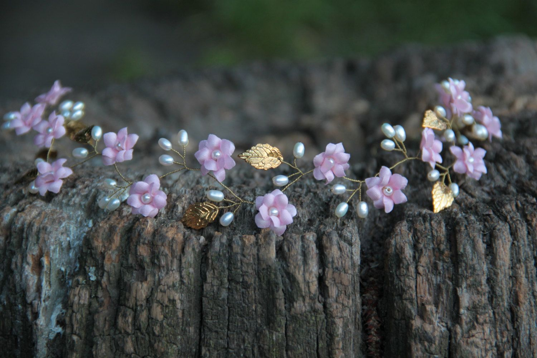 wedding bands, flower crown, hair crown, flower headbands, golden crown, pearl tiara, gold tiara, pearl headband, golden wedding