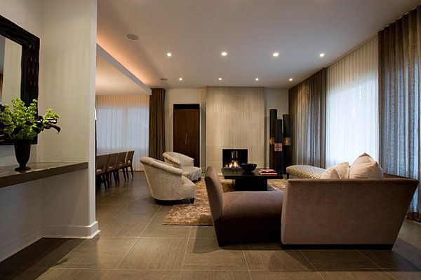 large porcelain tiles for the living room choose tiles with hint of brown for warmth - Big Tiles For Living Room