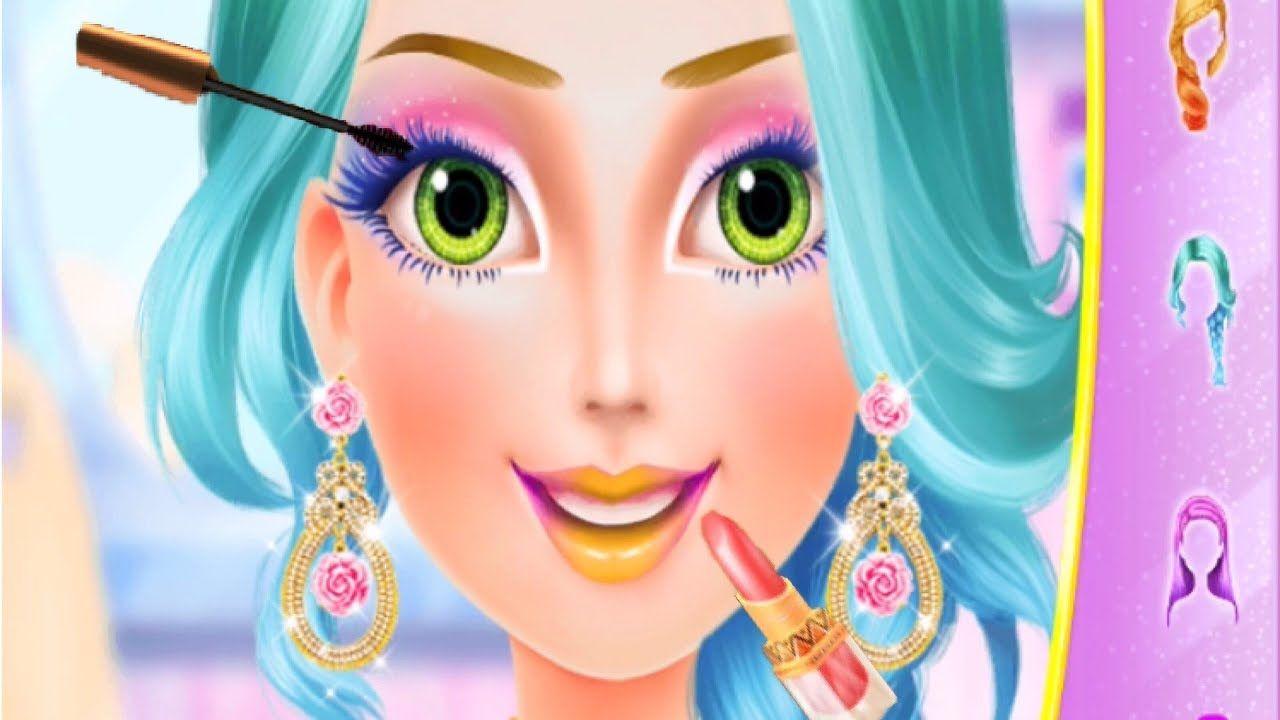 Little Princess Makeup Salon Dress Up Makeup Makeover Fun Games F Makeup Salon Princess Makeup Makeup Makeover