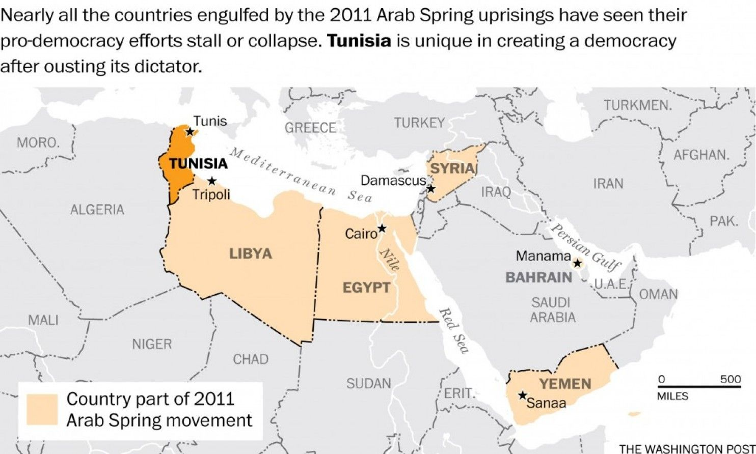 remember the arab spring heres whats left the washington post
