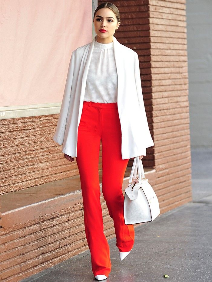 Olivia Culpo Is the New York Girl We Want to Dress Like Now via @WhoWhatWearUK