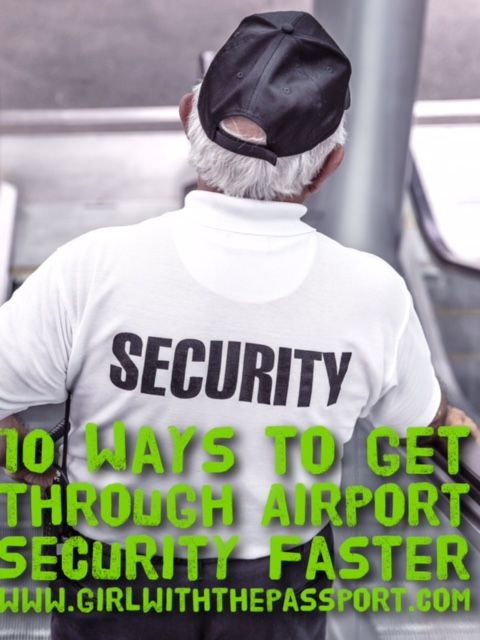 !0 ways that will help you get through airport security a whole lot faster.