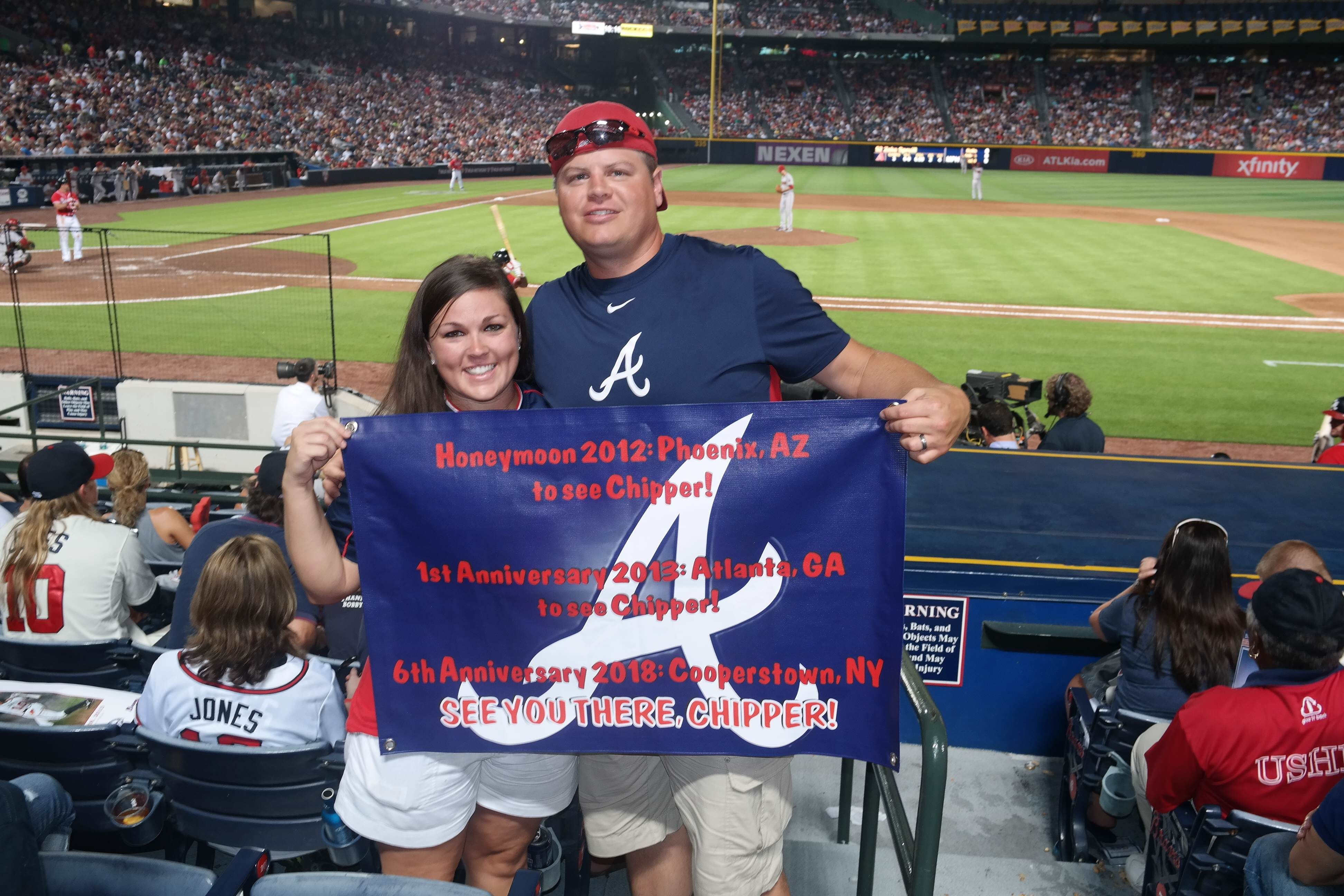 Dedicated To Chipper Atlanta Braves Braves Baseball Braves