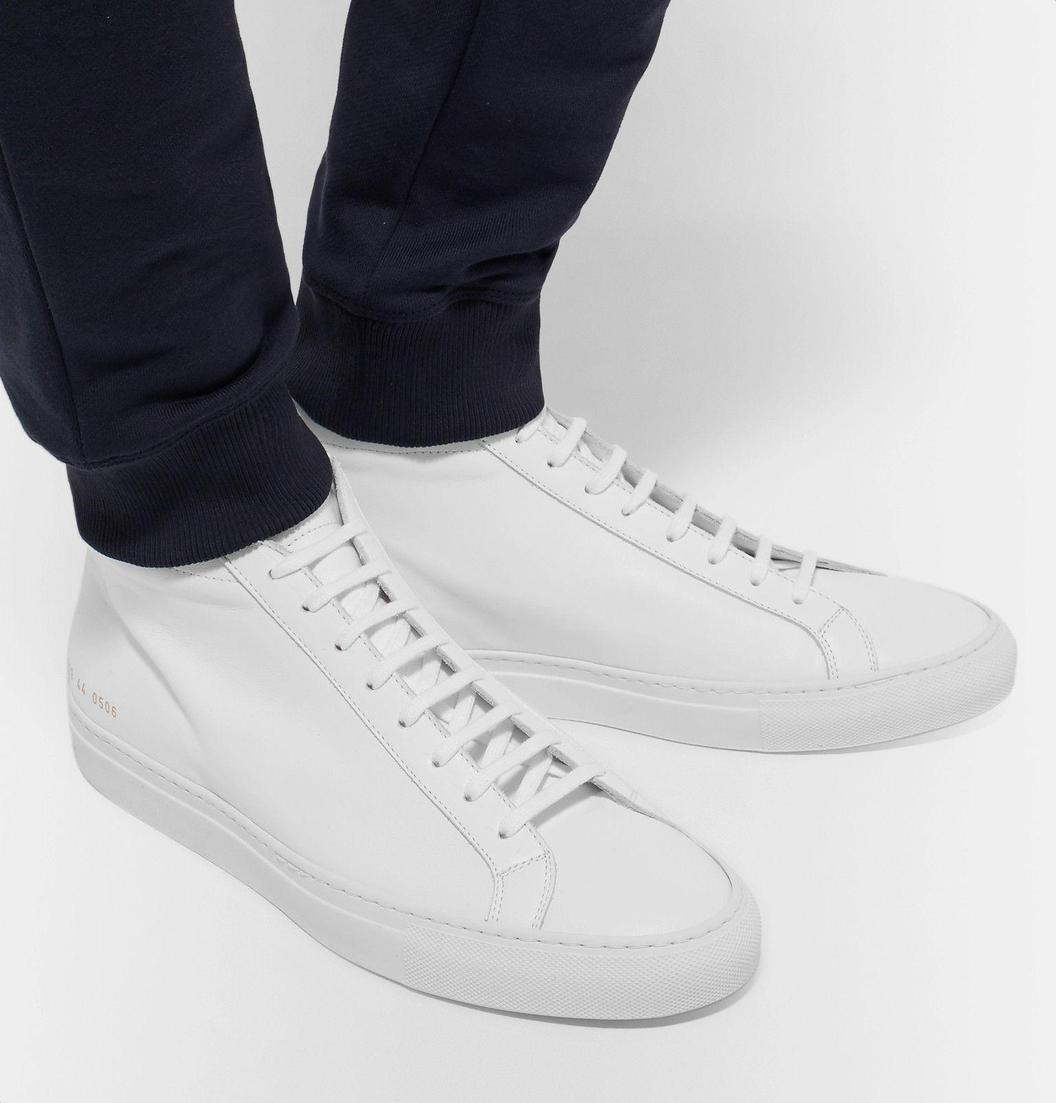 White Original Achilles Leather High