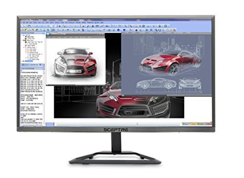 Sceptre E248W-1920R 24 Inch Ultra Thin 1080p 75Hz LED