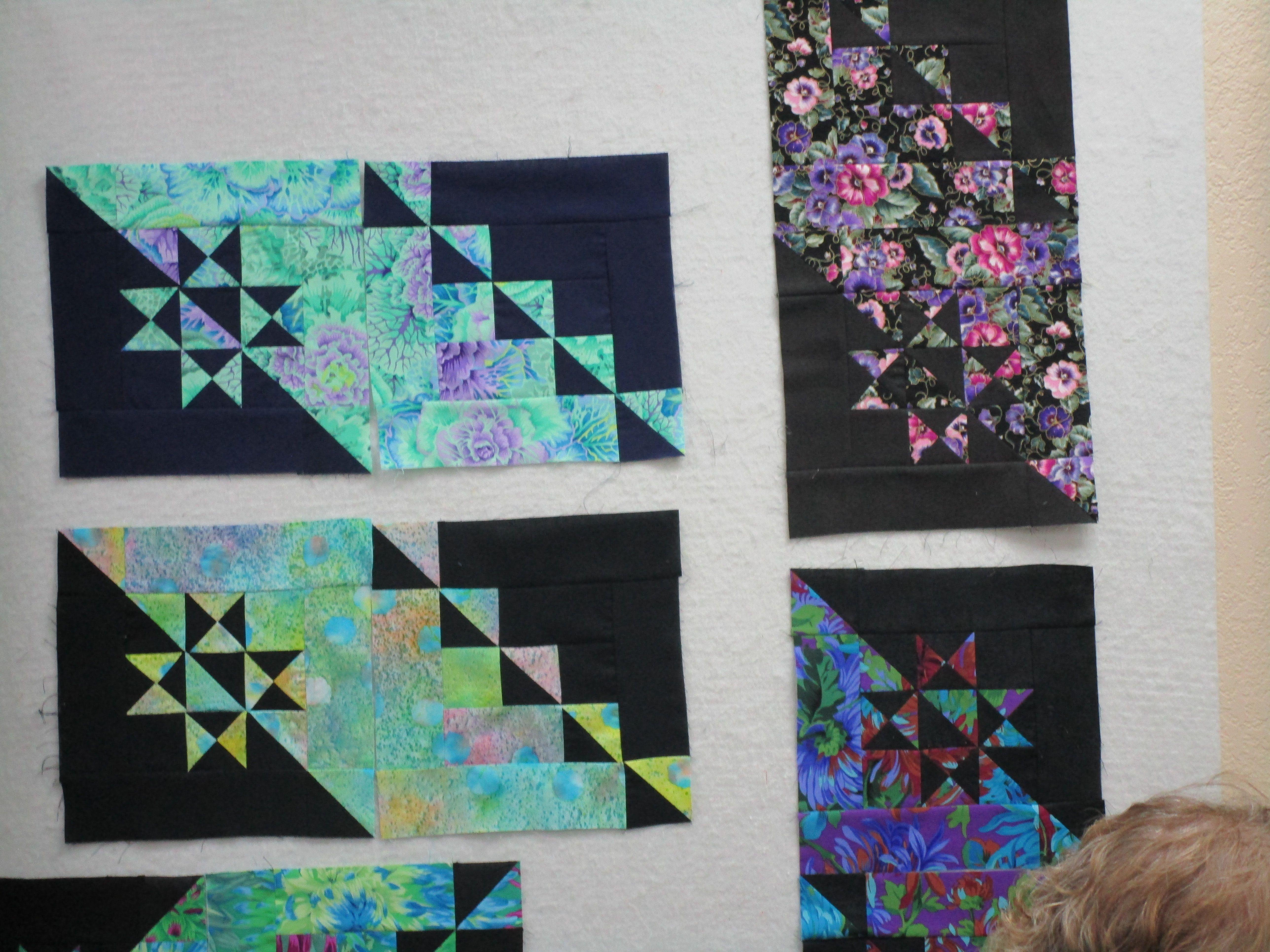 linda ballard's bella nova class | class projects | quilts, class