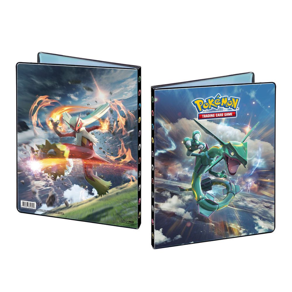 Pokemon Forbidden Light SM6, 9- Pocket Portfolio/Album For