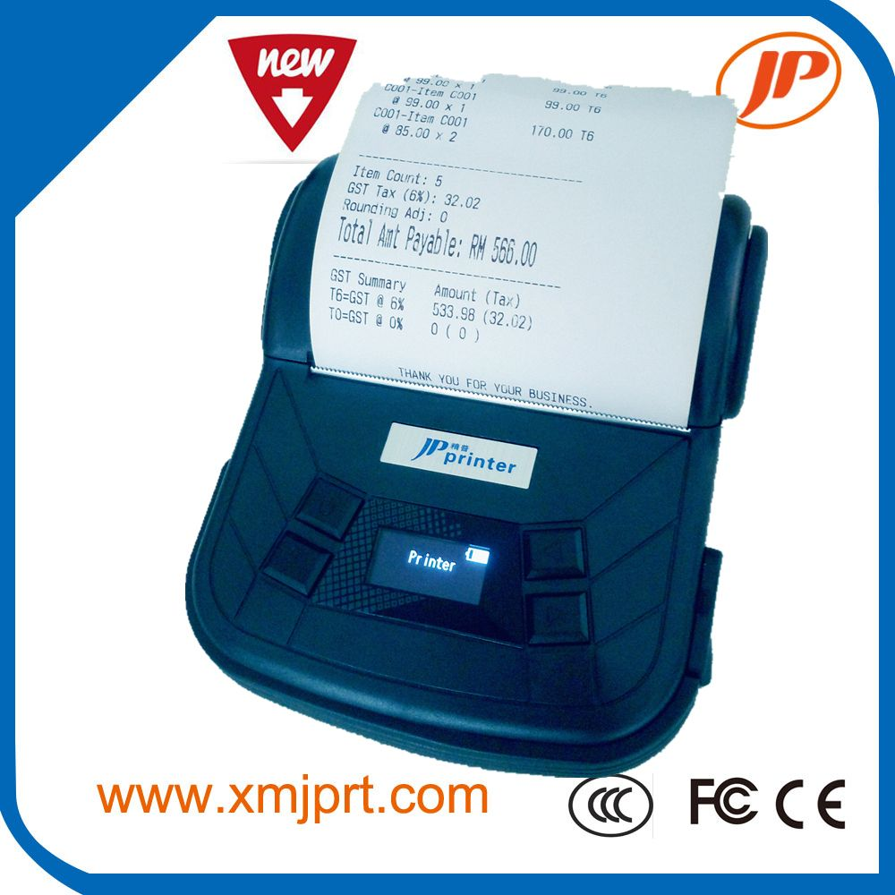 Free Shipping 80mm Mobile Printer Bluetooth Printer Label Printer Support Android And Ios Mobile Printer Label Printer Printer