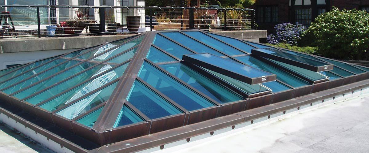 Custom Built Skylights And Sloped Glazing Crystalite Inc