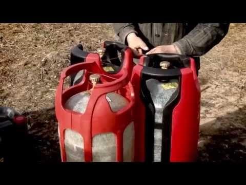 Полимерные газовые баллоны. Взрыв газового баллона - YouTube
