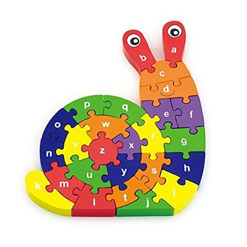From 6.99:3d Wooden Snail Puzzle