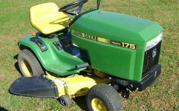 Pin On John Deere 175 Lawn Garden Tractor Service Repair Manual