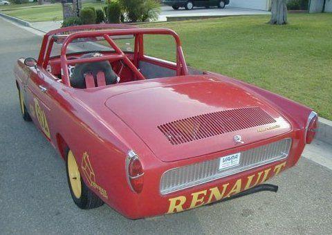 1962 Renault Caravelle Vintage Race Car Rear