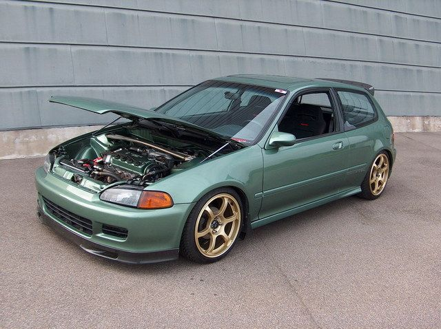1993 Honda Civic Si Hatchback //extreme-modified.com/page9.php ...