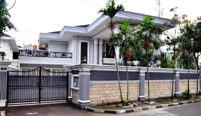 Model Pagar Tembok Rumah Mewah Minimalis Rumah Mewah Rumah Minimalis Rumah