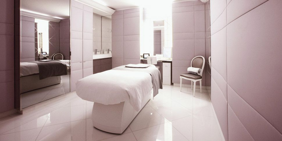 A massage in the new Dior Spa ( Plaza Athenee Paris ) would be - modernes design spa hotel