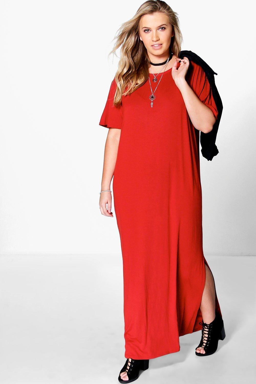 Plus size elisa tshirt maxi dress plus size plussizefashion