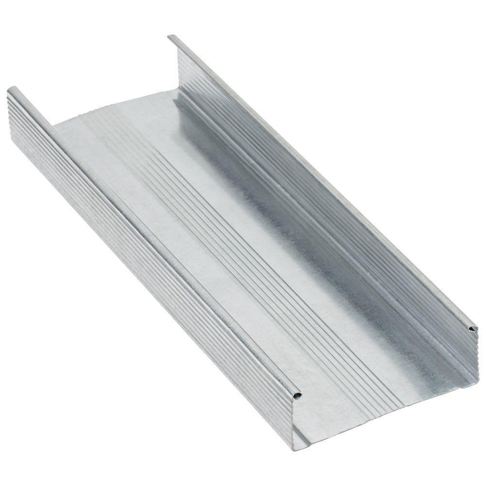 Null 3 5 8 In X 10 Ft 20 Gauge Galvanized Steel Drywall Stud Ikea Makeover Home Depot Diy Furniture Bedroom