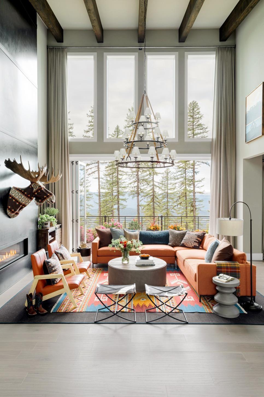 20 Rainbow Design Ideas | Hgtv dream homes, Great rooms, Home
