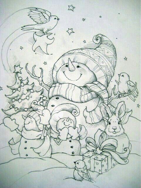 Winter Haven Creativa De Las Maravillas Para Colorear Libro Weihnachtsfarben Ausmalbilder Weihnachtsmalvorlagen