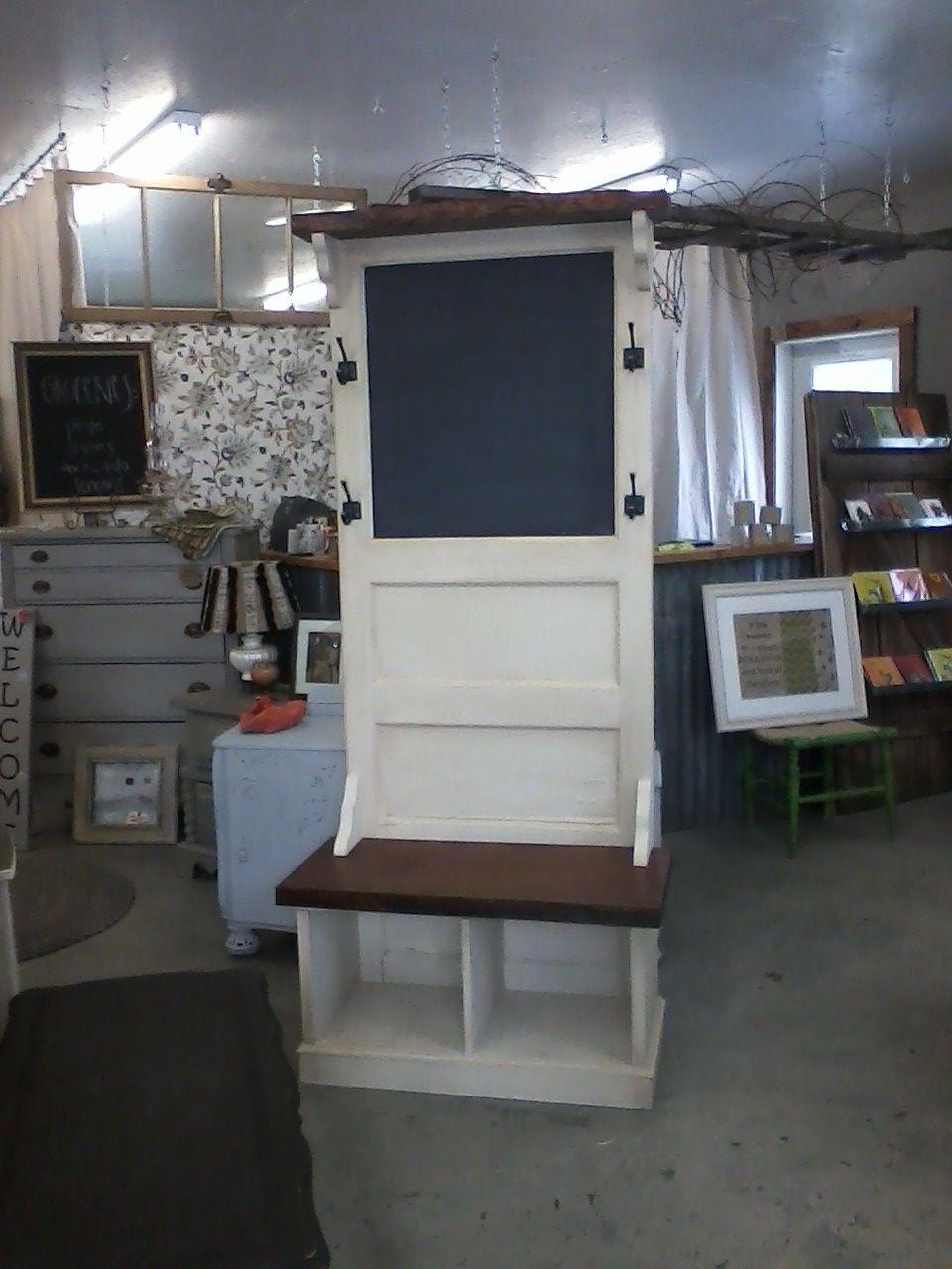 Desk Made From Old Door