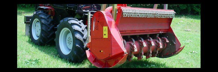 Forestry mulcher MIDIFORST - forestry attachment for PTO