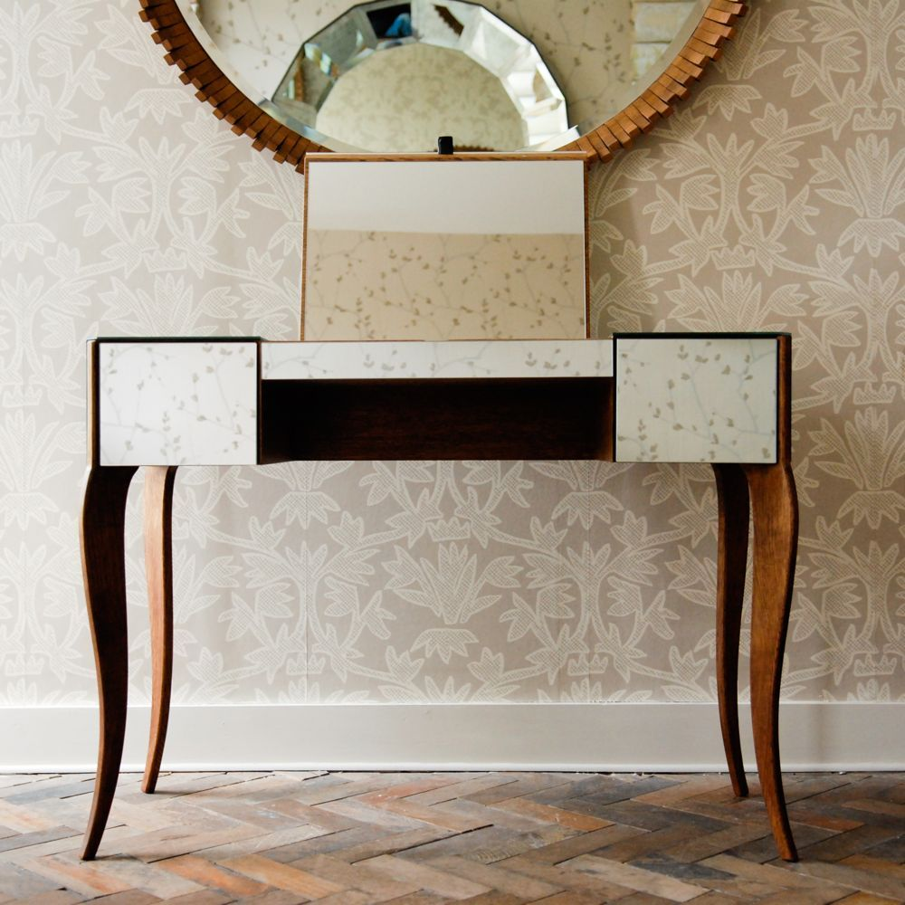 Dressing table mirrors with lights hand made furniture two drawer dresser with fold up vanity mirror