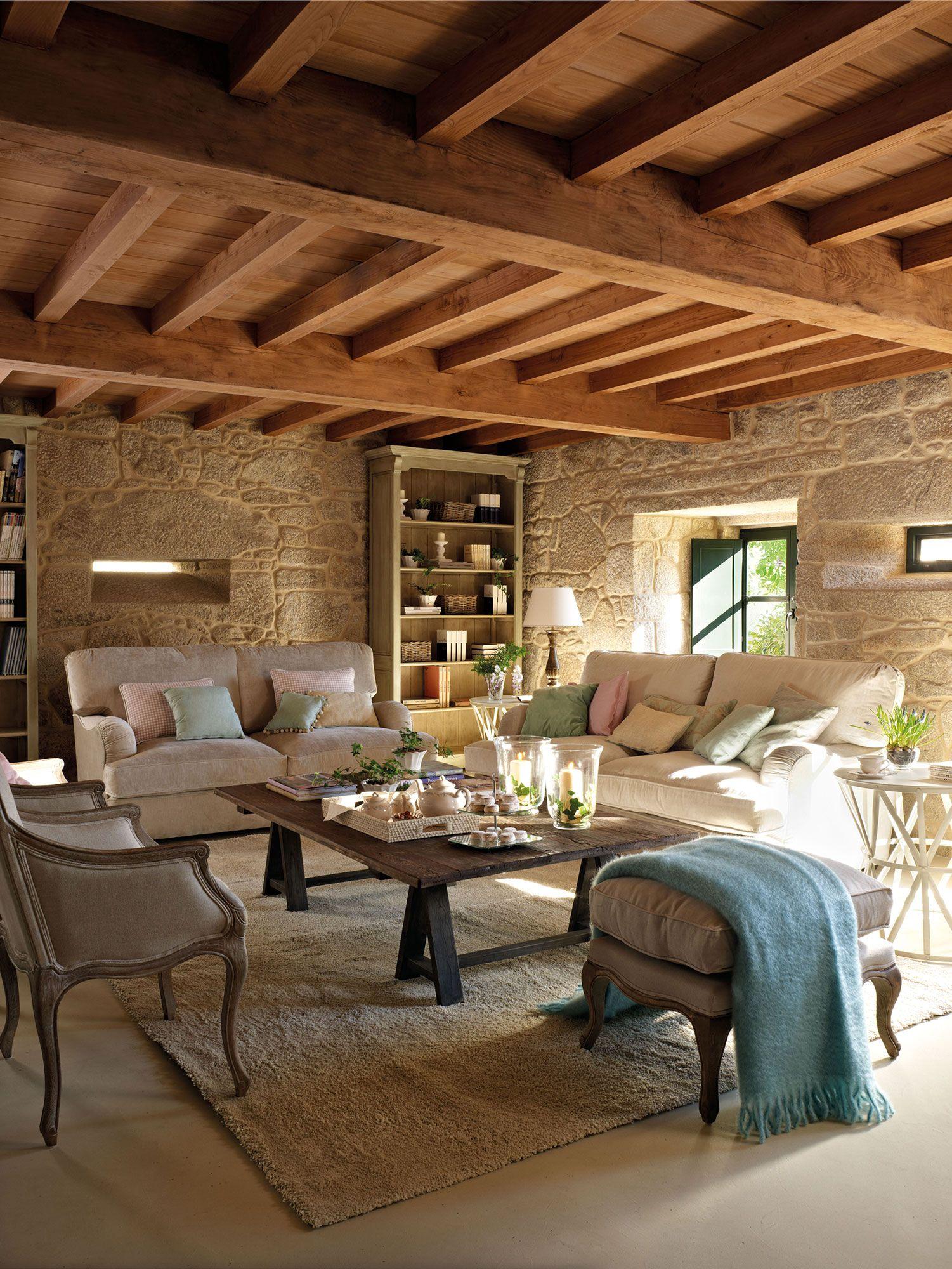 Pin de maria julia llano en living room pinterest - Salones rusticos ikea ...