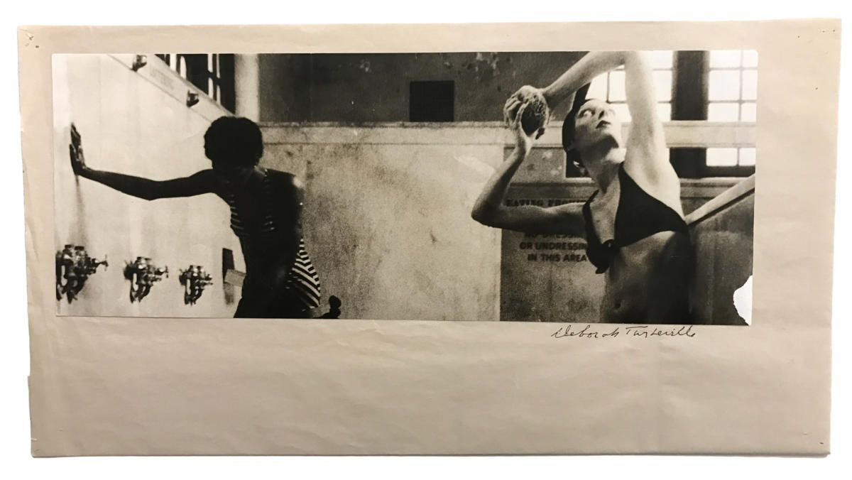 """Asser Levy Bathhouse,"" New York, 1975, for Vogue.  Deborah Turbeville"