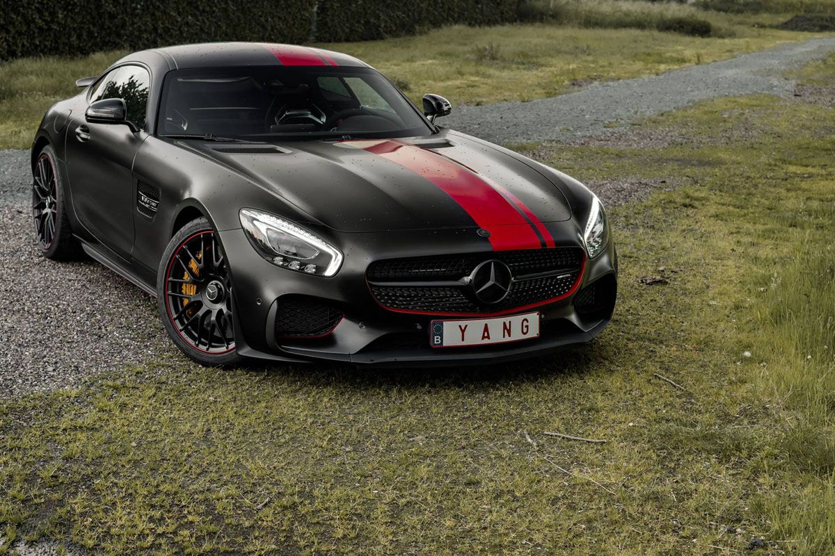this mercedes amg gt s is a wrapped weapon mercedes amg automotive design and benz. Black Bedroom Furniture Sets. Home Design Ideas