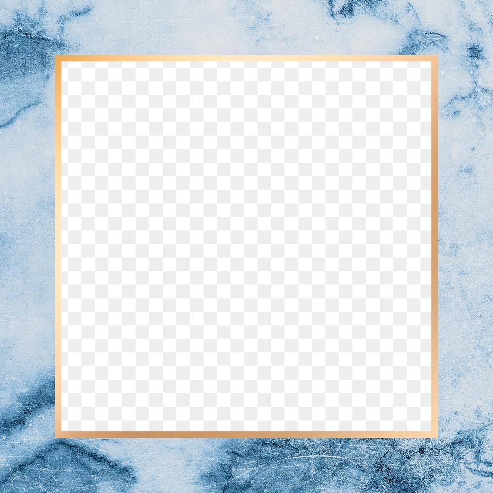 Blue Frame Png Marble Texture Free Image By Rawpixel Com Paeng Blue Frames Marble Texture Frame