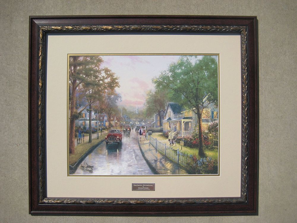 Home interiors 50th anniversary by thomas kinkade library edition art art prints
