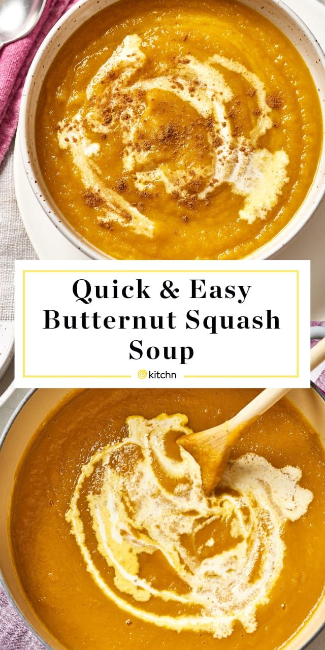 How To Make the Best Butternut Squash Soup