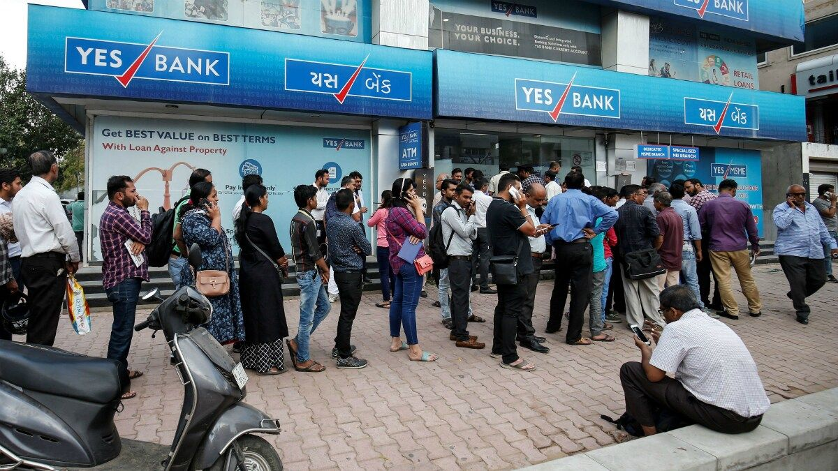 in 2020 Yes bank, Banking services, Banking