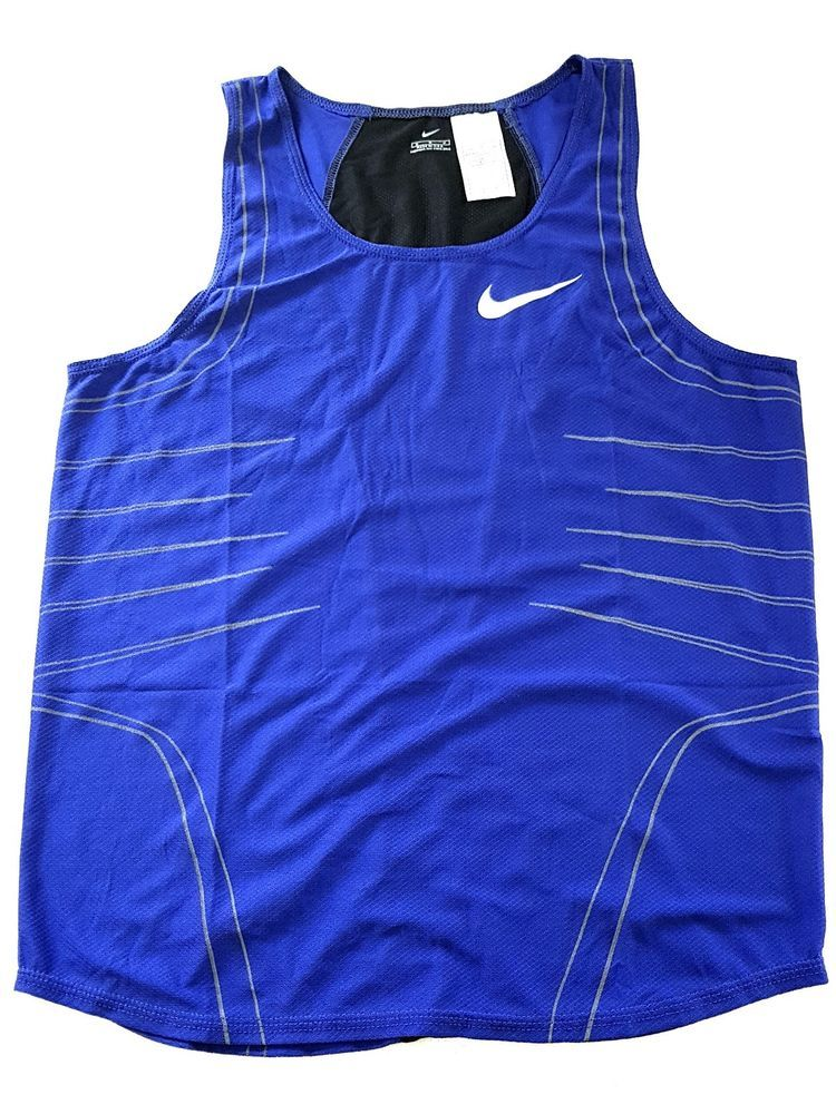 7f9a5f2e19 NIKE ELITE PRO SPONSORED ATHLETE ISSUE RUNNING SINGLET TRACK AND FIELD  OLYMPIC M #Nike #
