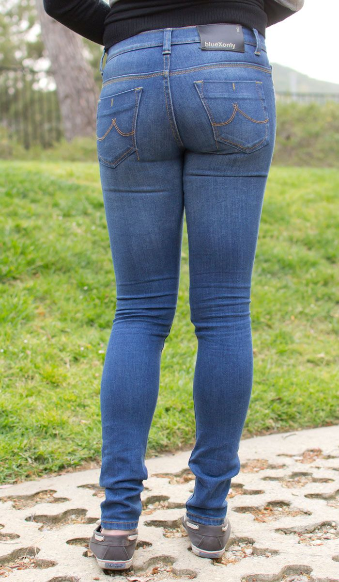 Thin legs and jeans