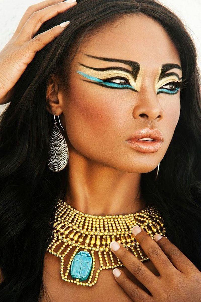 Maquillage indienne d'Amérique 40 idées dictées par la