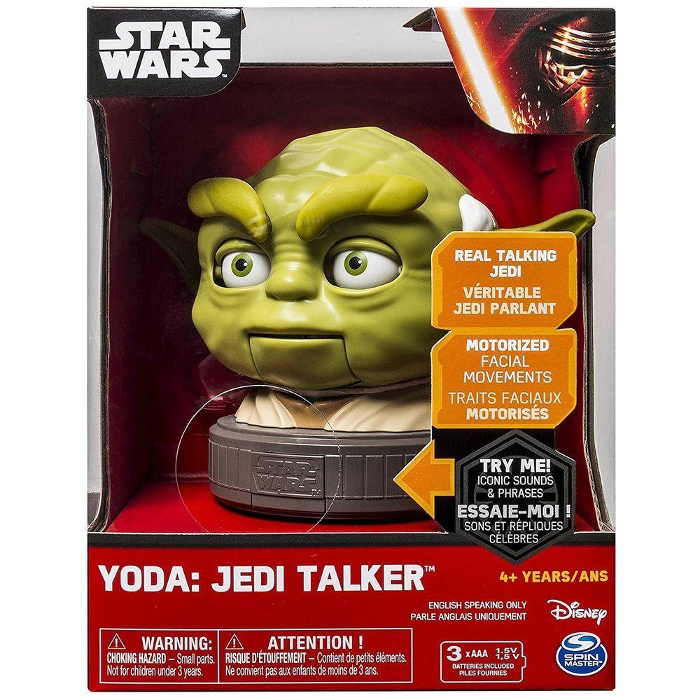 Nouveau-DISNEY Spin Master Yoda Talker parlant-motorisés mouvements