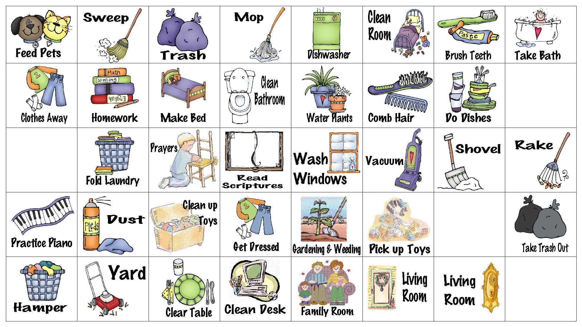 wfmw - chore chart graphics