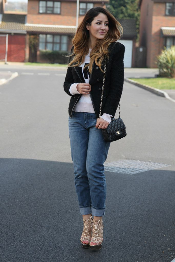 21 Popular Boyfriend Jeans Outfits Trends This Season | Boyfriend ...