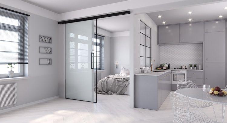 Sliding Glass Door In 2020 Sliding Glass Door Glass Door Double Sliding Doors