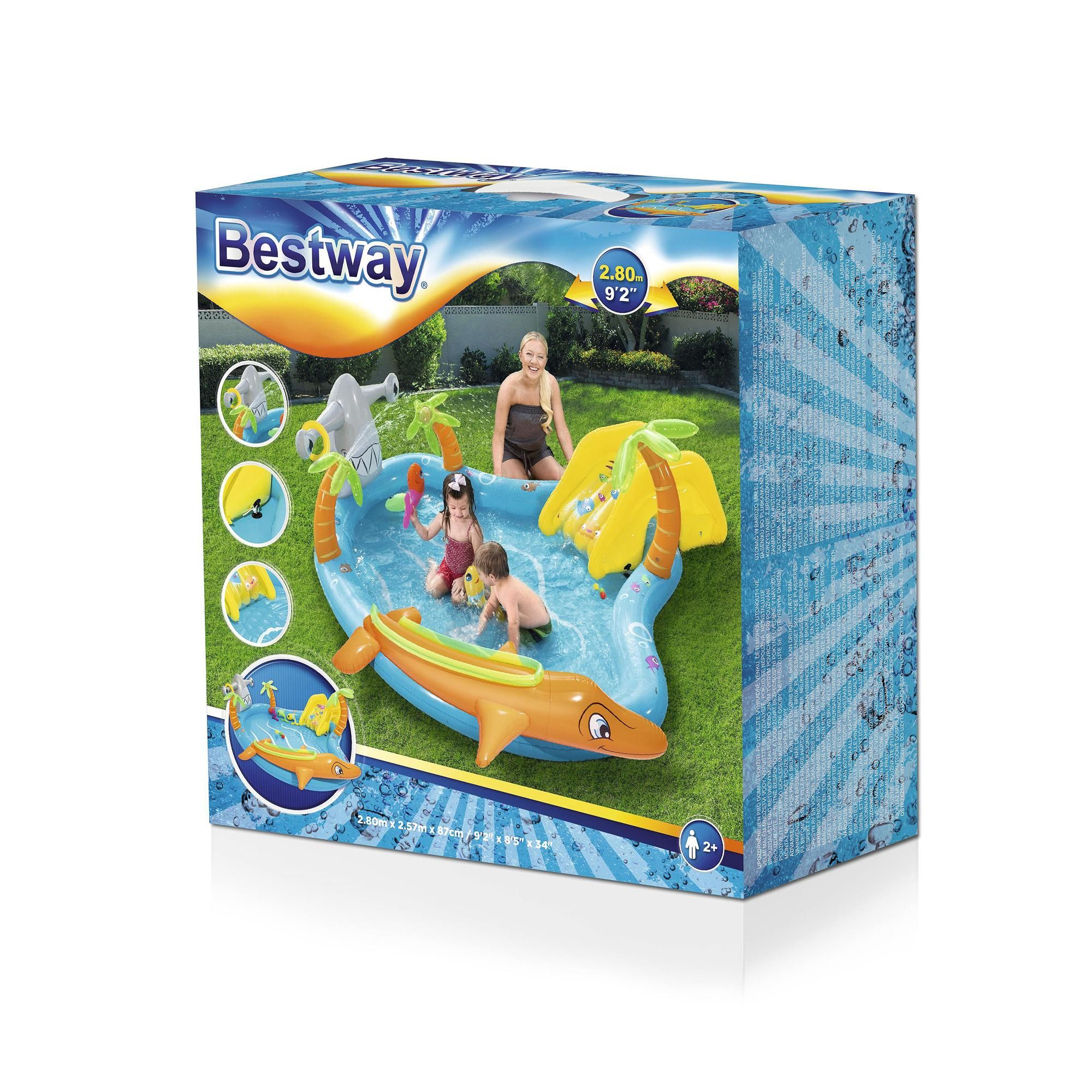 Bestway Inflatable Sea Life Play Centre