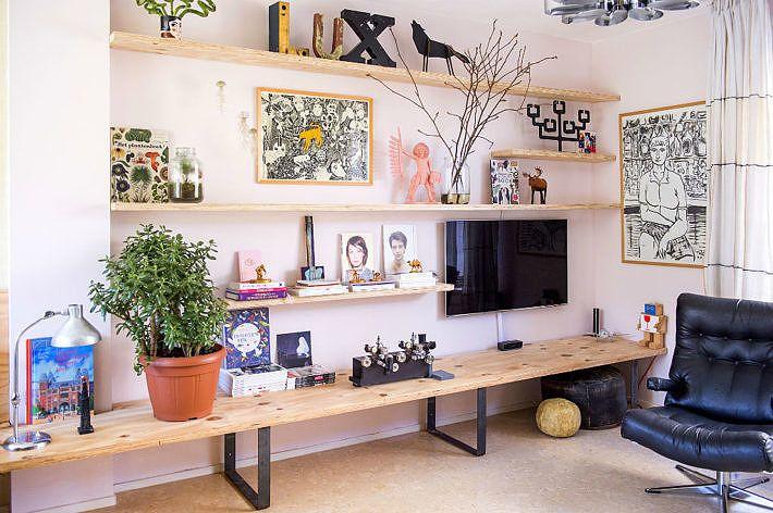 BINNENKIJKEN | Rijtjeshuis met een wauwfactor - Wonen&Co ...