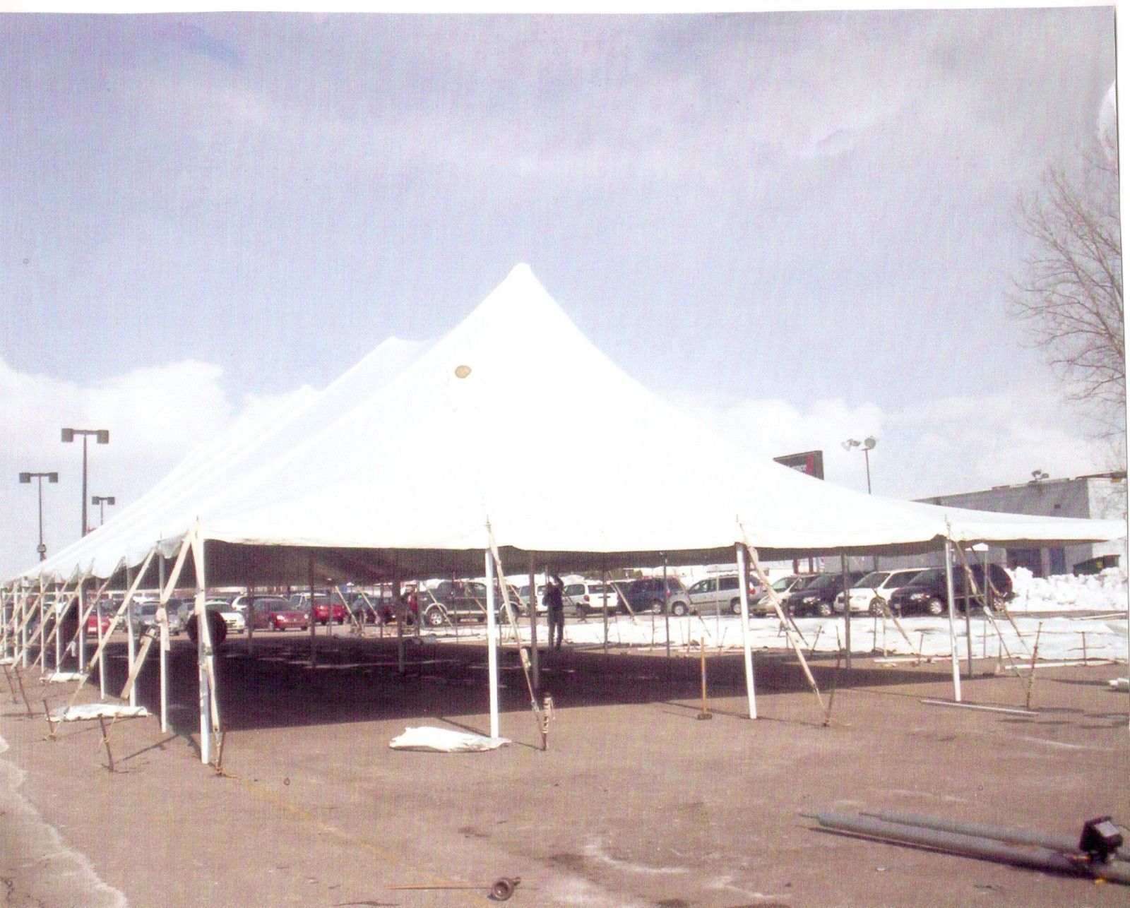 Marquees and Tents 180994 40X80 16Oz 4Pc Party Wedding Tent Top Only New Made By & Marquees and Tents 180994: 40X80 16Oz 4Pc Party Wedding Tent Top ...
