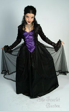 Crucifix & Roses Belle Dame dress #gothic #goth