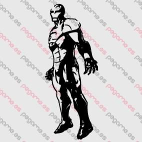 Pegame.es Online Decals Shop  #hero #comic #superhero #ironman #vinyl #sticker #pegatina #vinilo #stencil #decal