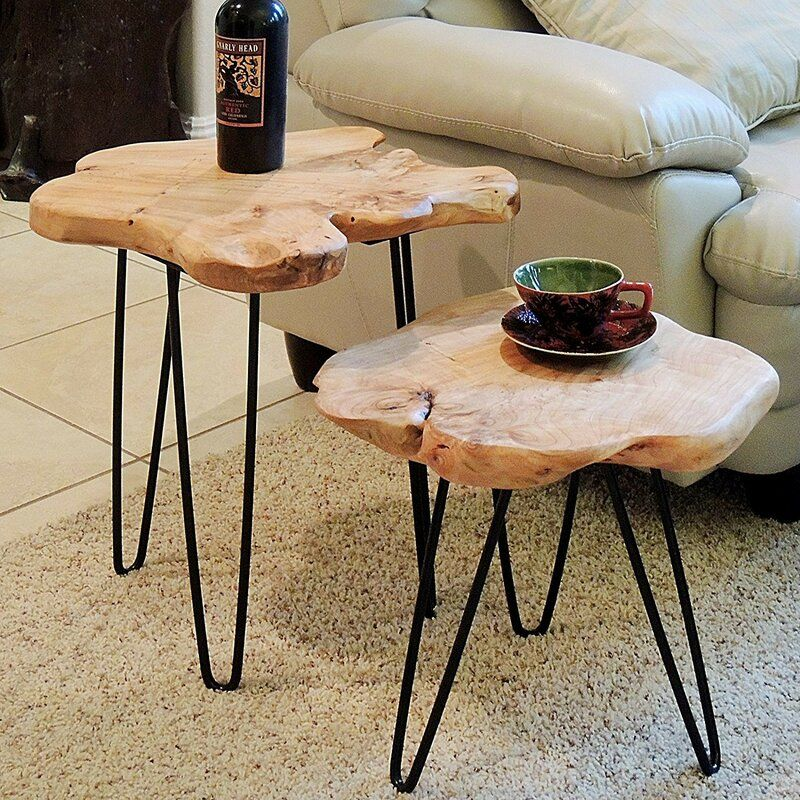 Cedar End Table In 2020 With Images End Tables Table Coffee Table