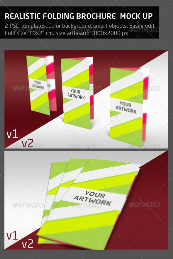 folded brochure mock up brochures print brochure mockup